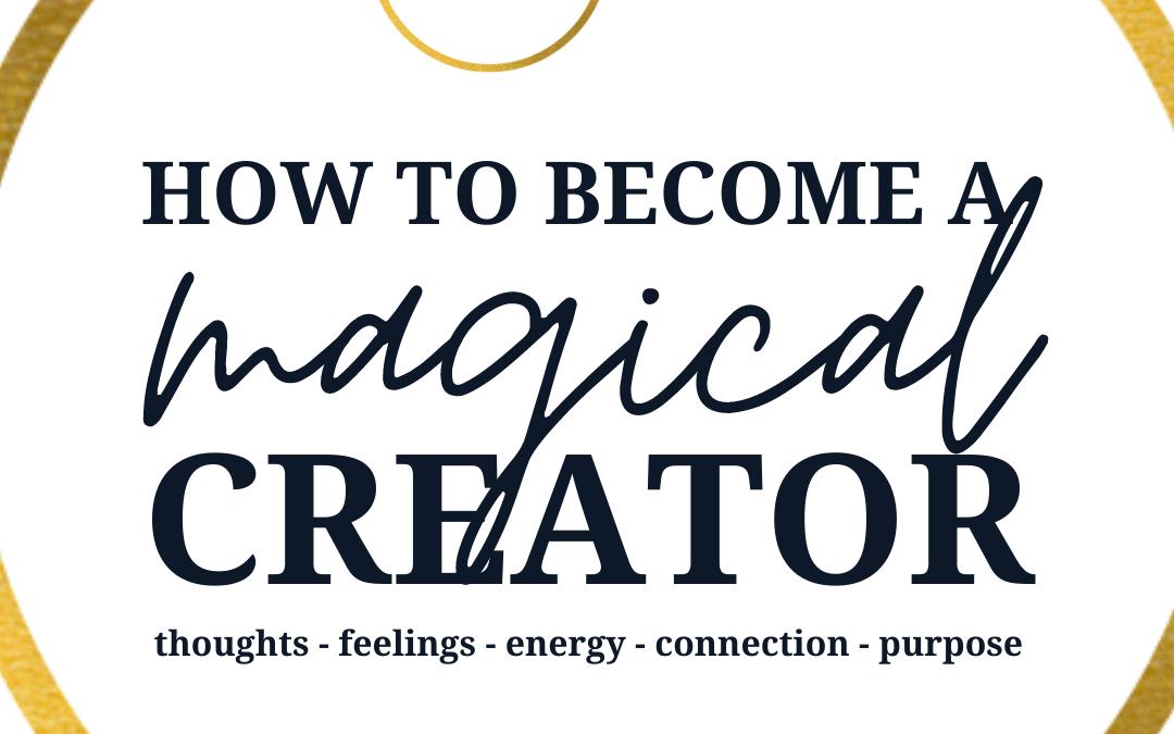 How I became a magical creator – audio
